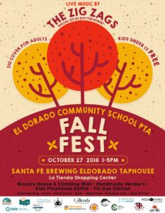 2018 PTA Fall Fest poster